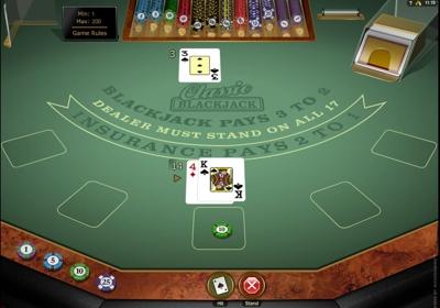 Microgaming Classic Blackjack