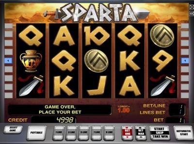 Playtech Sparta