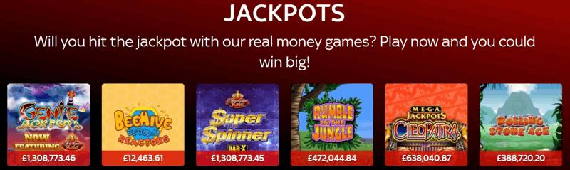 Sky Vegas Jackpot