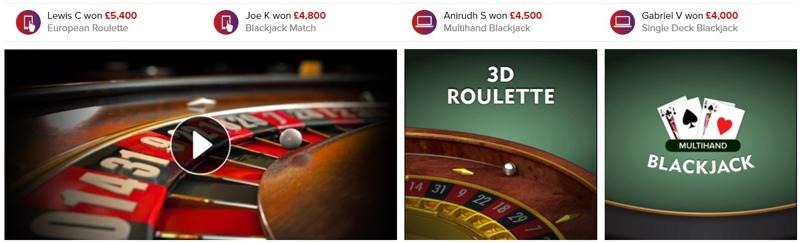 Virgin Casino Website