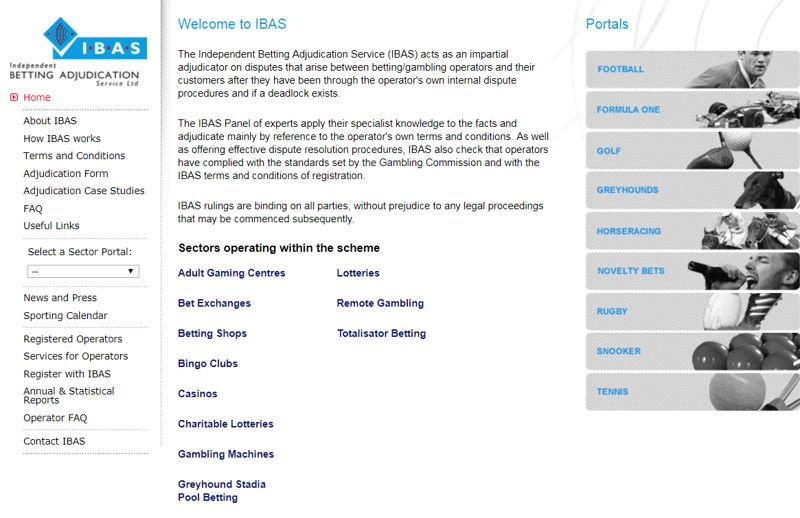 ibas website