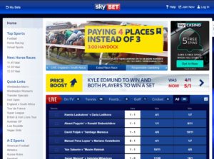 Sky Bet Screenshot