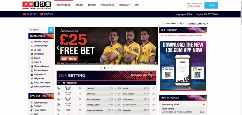 138Bet Website