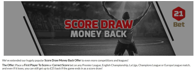 21Bet Promotion