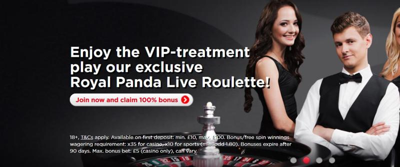 Royal Panda Casino VIP