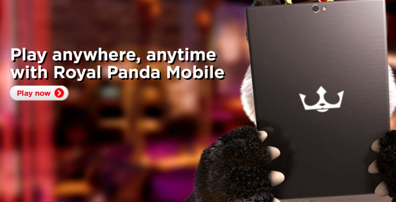 Royal Panda Casino Mobile