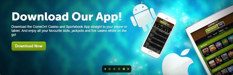 ComeOn Casino Mobile