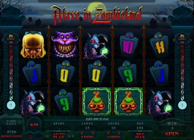 Microgaming Alaxe in Zombieland