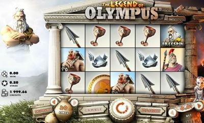 Microgaming Legend of Olympus