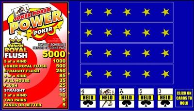 Microgaming Video Poker