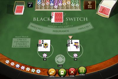 Playtech Blackjack Switch