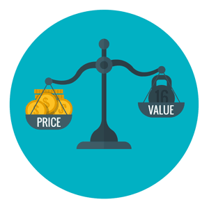 price v value