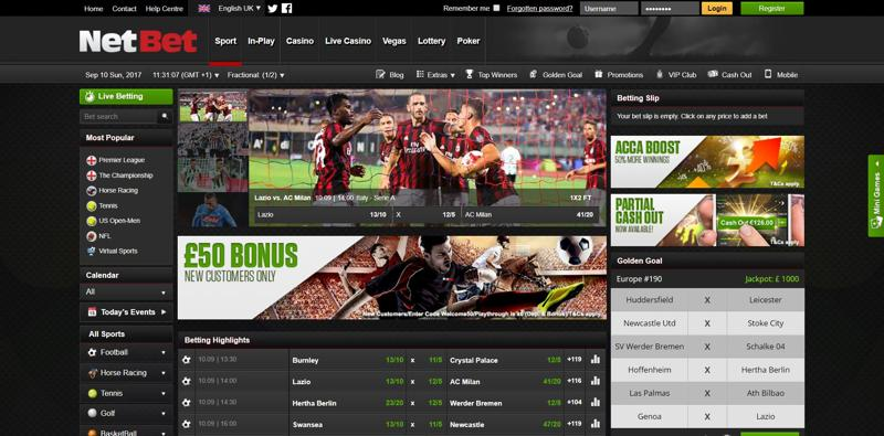 Netbet Website