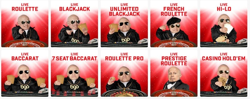 BGO Casino Live