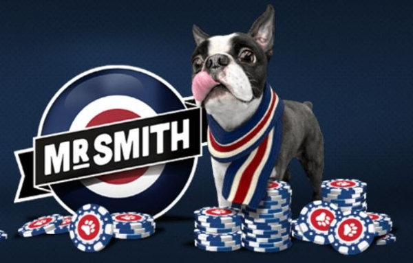 Mr Smith Casino Mascot