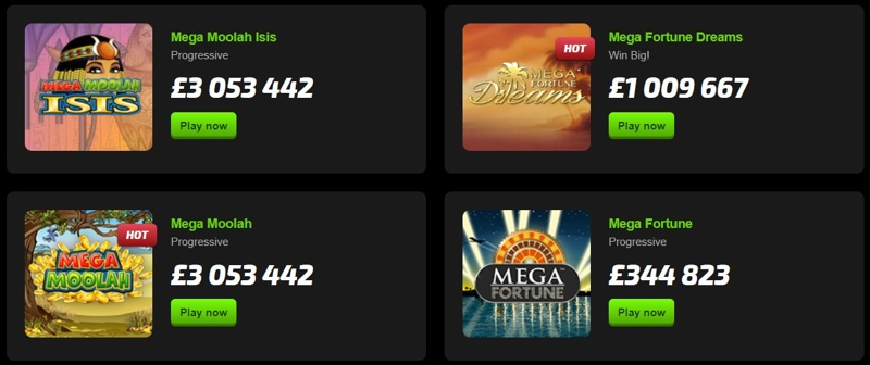 Mobilebet Casino Jackpot