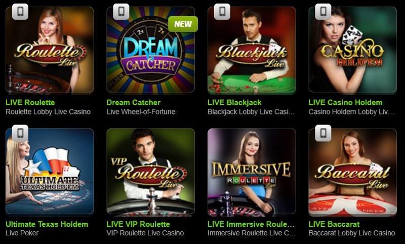Mobilebet Casino Live