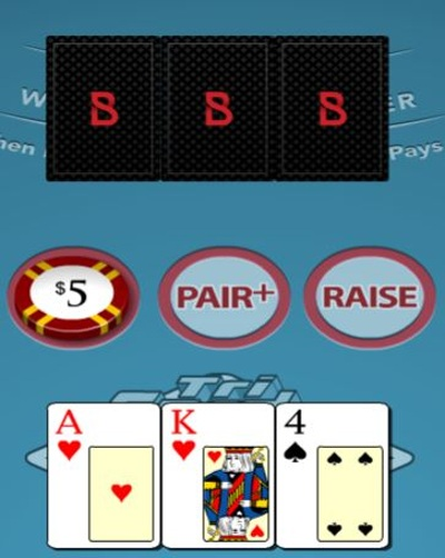 Three Card Poker Standard